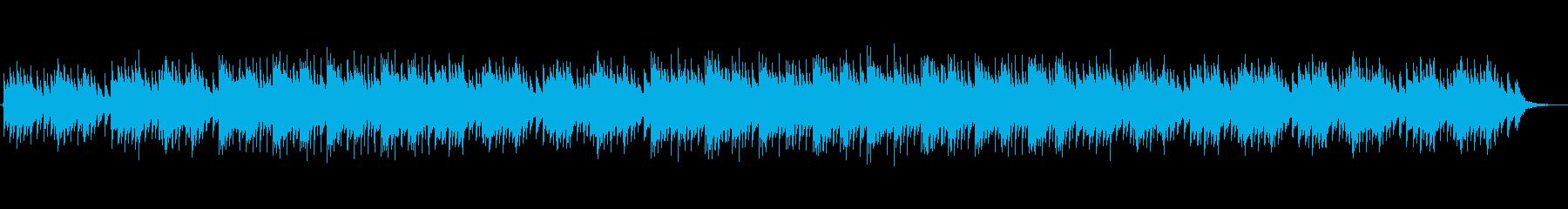 温かい・夢のような・エンディング・ハープの再生済みの波形