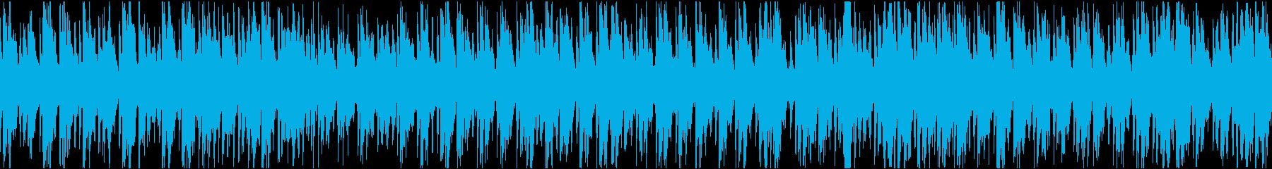 のんびりゆったりウクレレ&ギター/ループの再生済みの波形