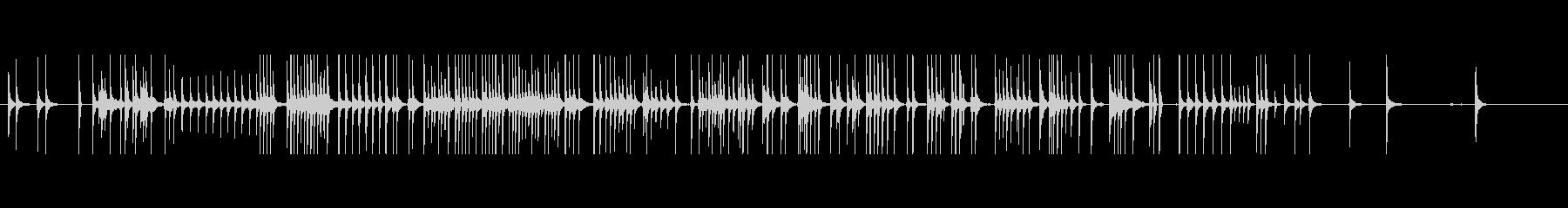 三味線235外記猿9小猿おさるさんサル投の未再生の波形