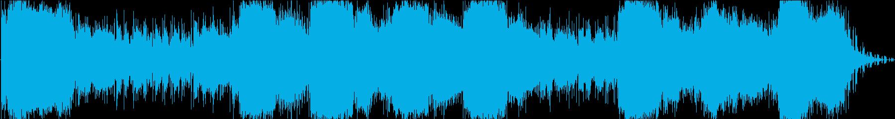 イメージ オリエンタルストリングス01の再生済みの波形