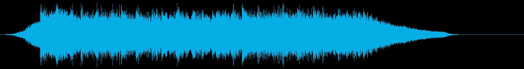 企業VP映像、107オーケストラ、爽快cの再生済みの波形