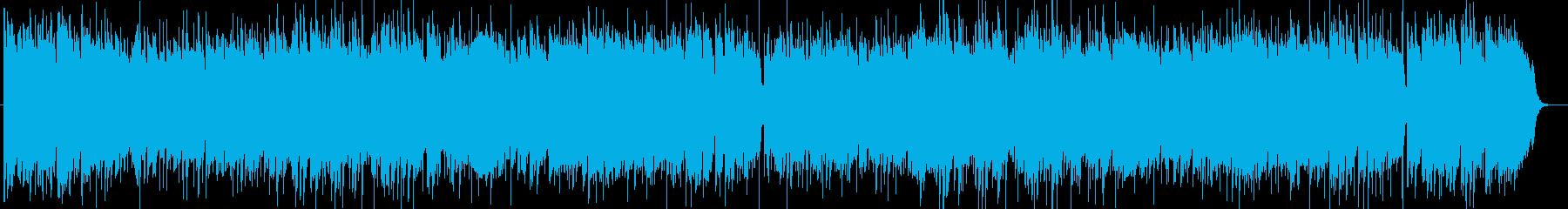広がりのあるフレッシュなポップの再生済みの波形