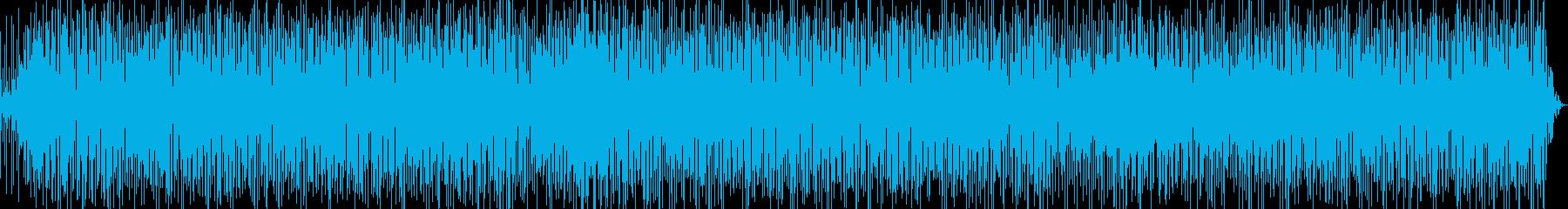 軽快なラテンファンク Ver.1-1の再生済みの波形