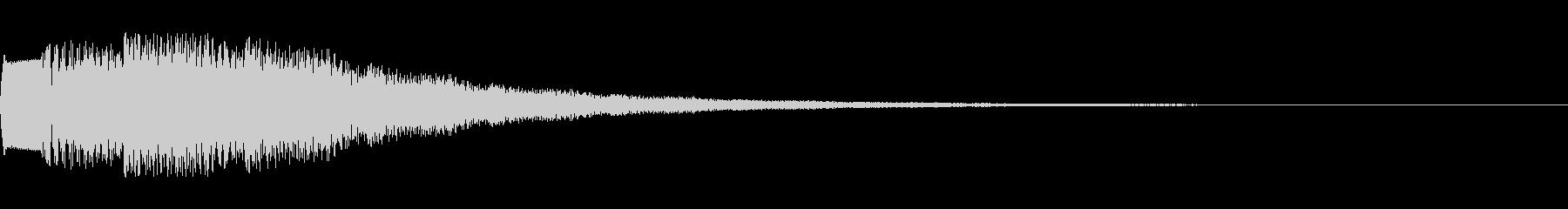 電子音 場面転換3の未再生の波形