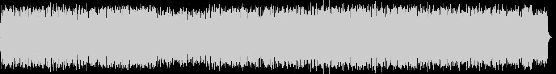 のどかな竹笛の音楽の未再生の波形