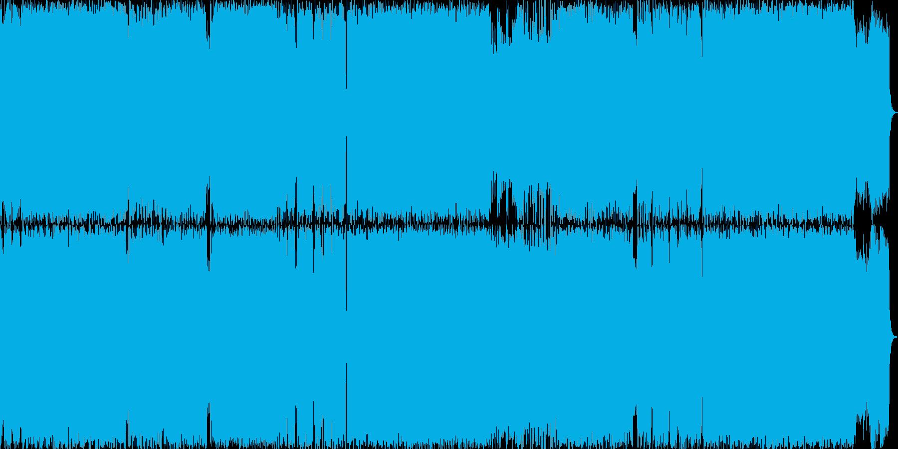 ストレート・クールなネオクラシカルメタルの再生済みの波形