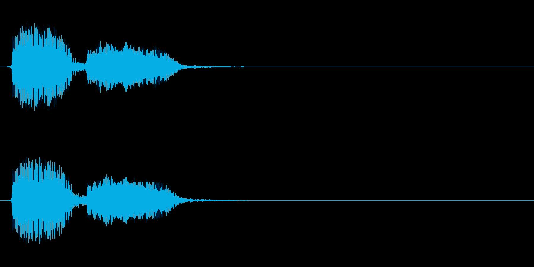 [生録音]アヒルのおもちゃ(1号)_1回の再生済みの波形