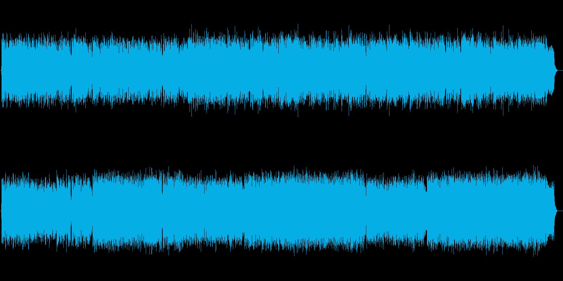 高貴な雰囲気のクラシック曲の再生済みの波形