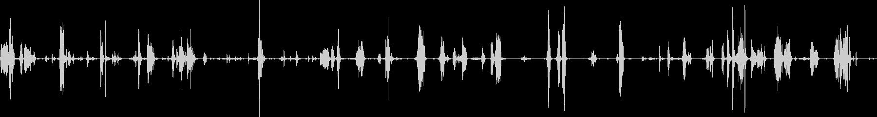 リッドキーク減圧室の未再生の波形