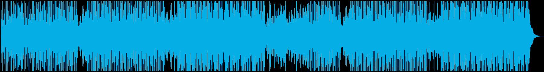 ポップ テクノ ファンク おしゃれ...の再生済みの波形
