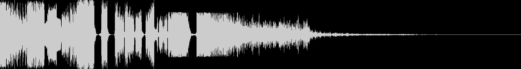 ジングル制作に最適な効果音 DJMIXの未再生の波形