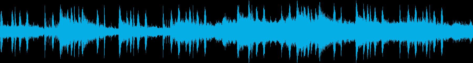 お洒落なBARで流れてそうなループBGMの再生済みの波形