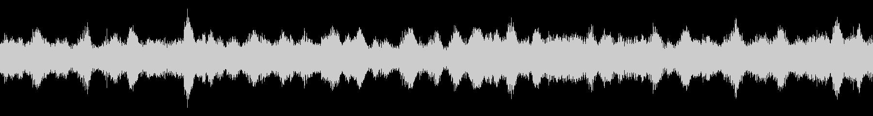 バックグラウンドトーンの調整の未再生の波形