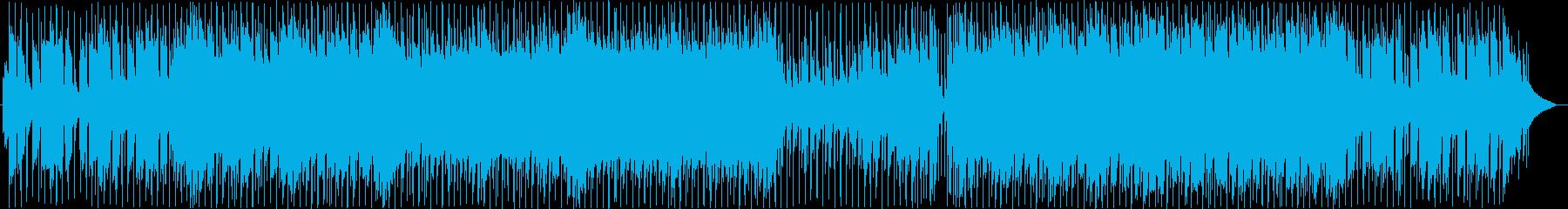 ピアノ中心の切ないミドルバラードの再生済みの波形