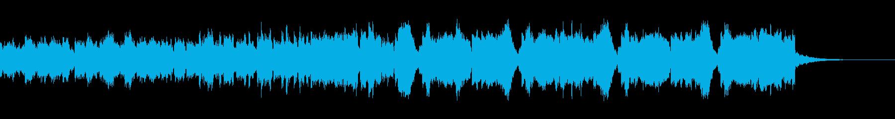 ぶっといベースが特徴的な変則ビートの再生済みの波形