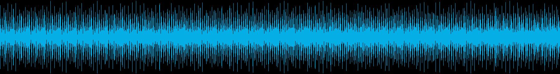 ギターとマリンバでのんきな音楽 の再生済みの波形