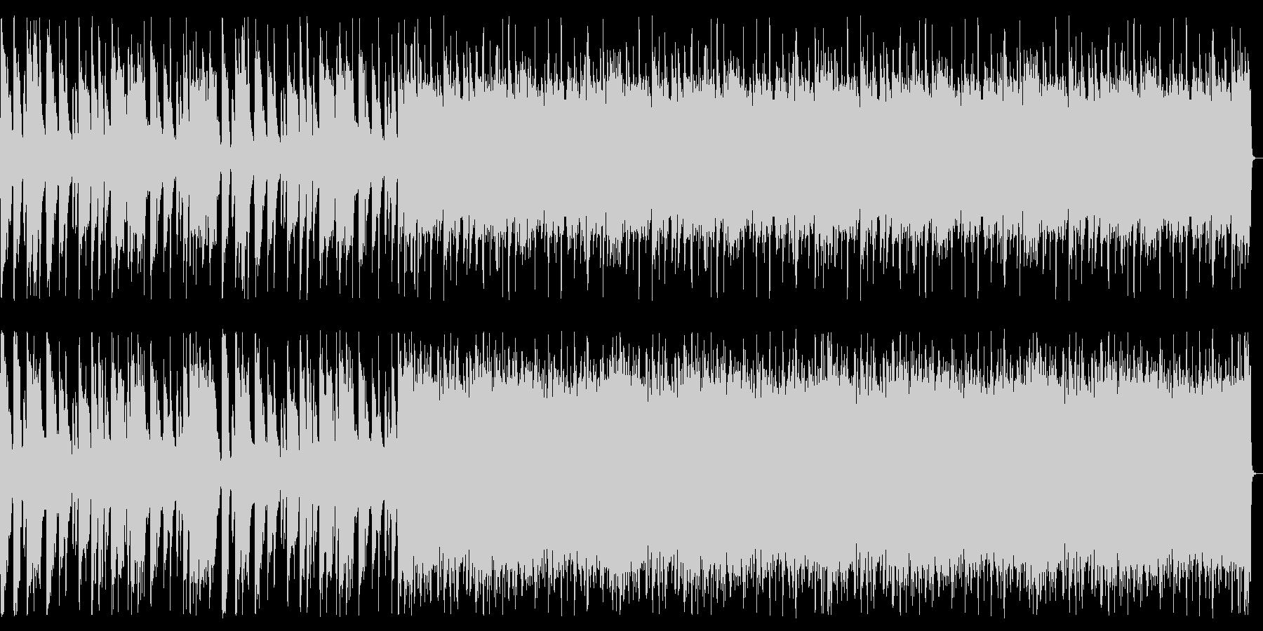 重厚/シンプル/ロック_No600_3の未再生の波形