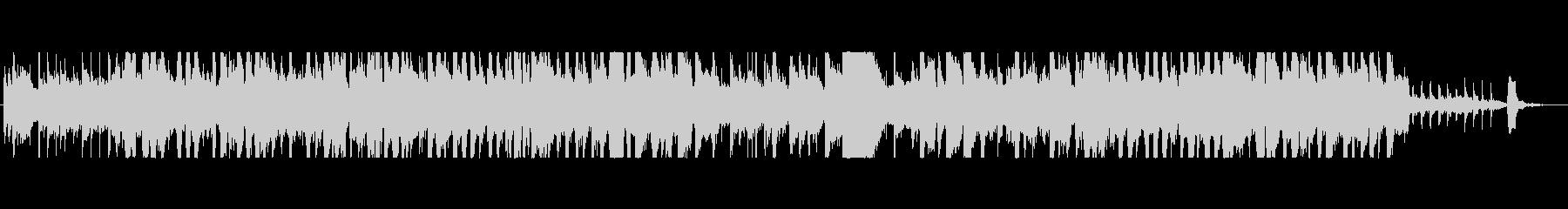オレンジをテーマにした楽曲の未再生の波形