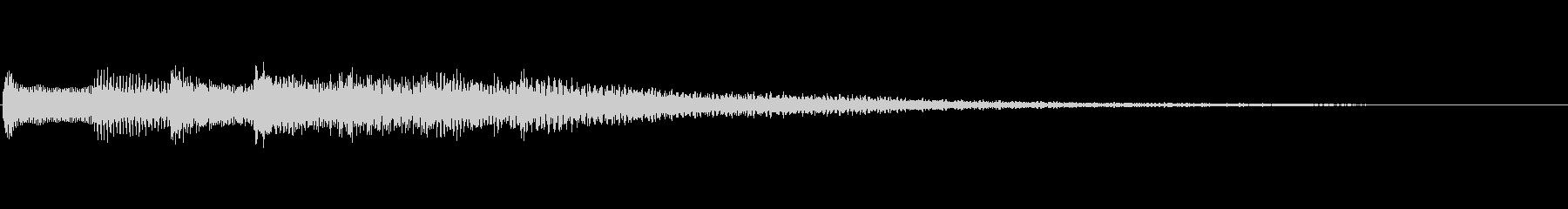 【生演奏】心優しいピアノジングルの未再生の波形