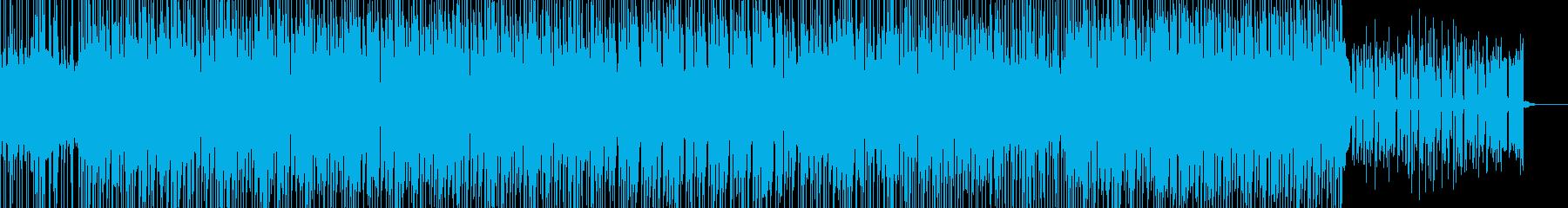 切なくて気丈で前向きな感じのBGMの再生済みの波形
