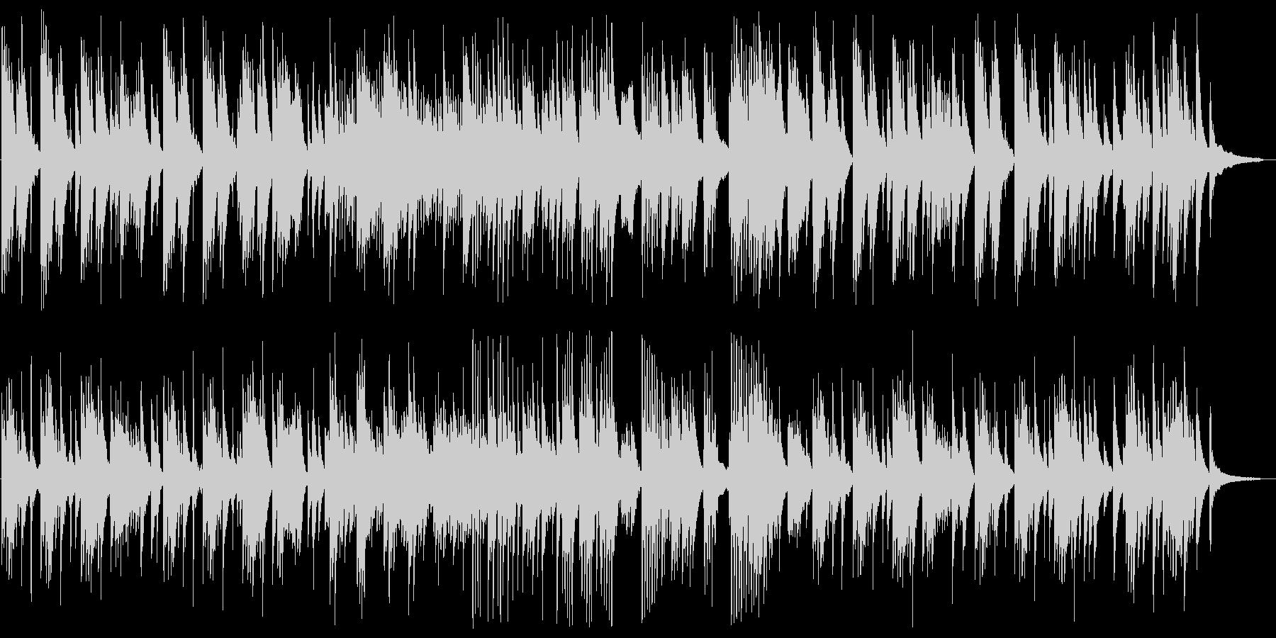 しっとりとメローなピアノサウンドの未再生の波形
