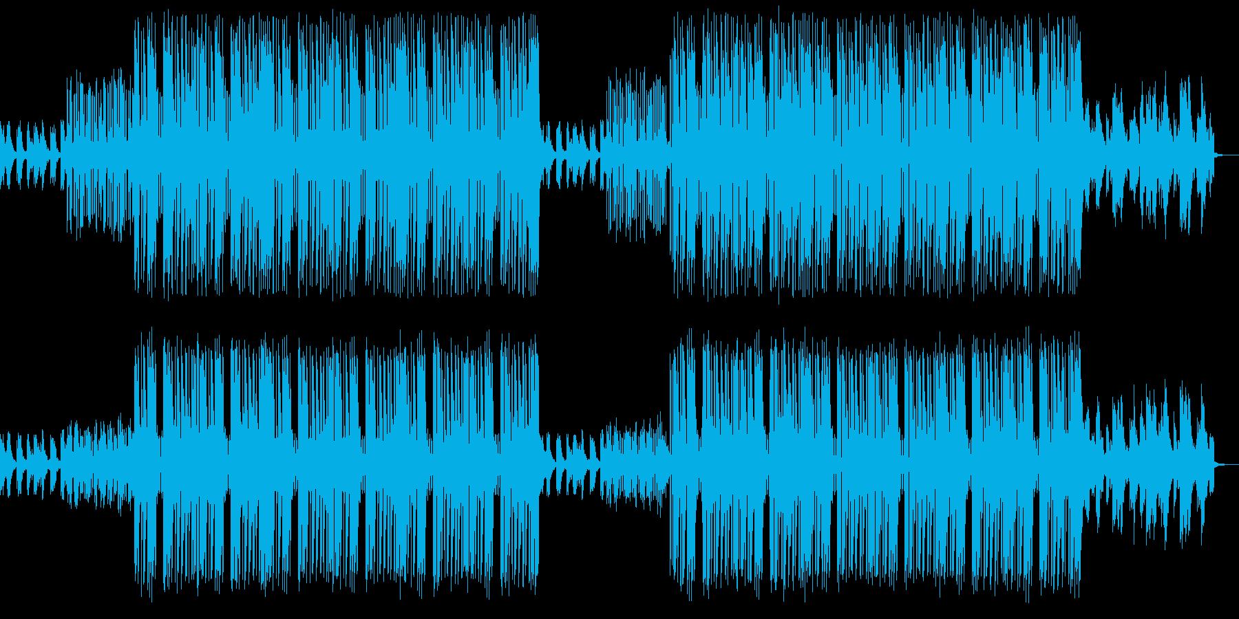 中華風木陰の休息Lofiトラップビートの再生済みの波形