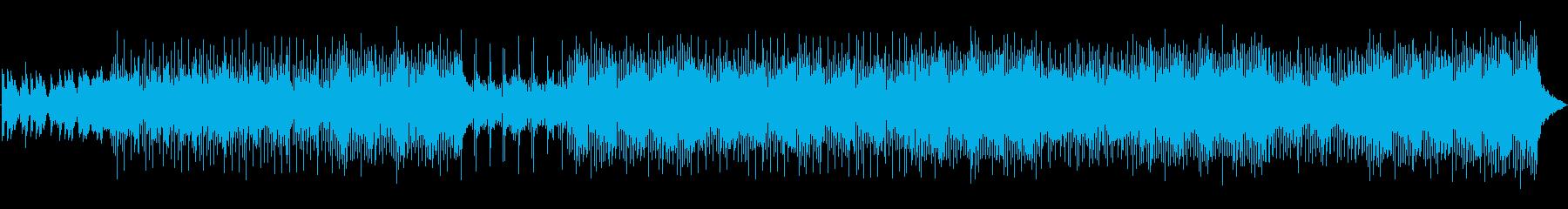 アコーディオン、ピアノ、ストリング...の再生済みの波形