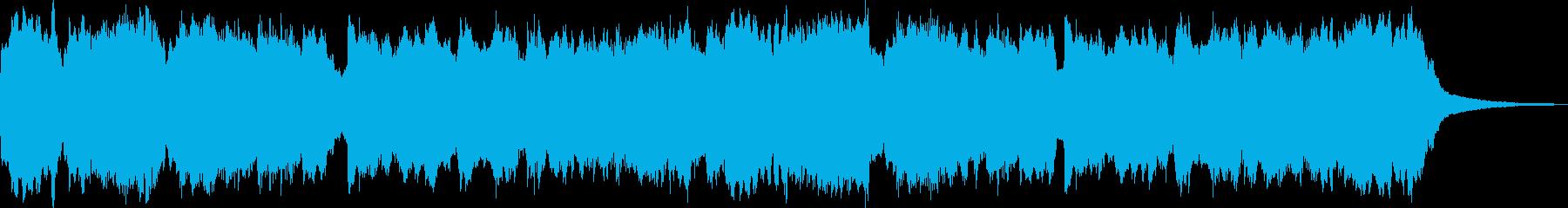 木管でゆったりとしたヒーリングBGMの再生済みの波形
