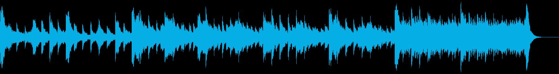不気味なピアノソロの再生済みの波形