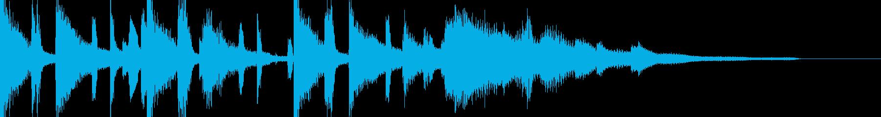 クールなオープニング曲【企業VP・CM】の再生済みの波形