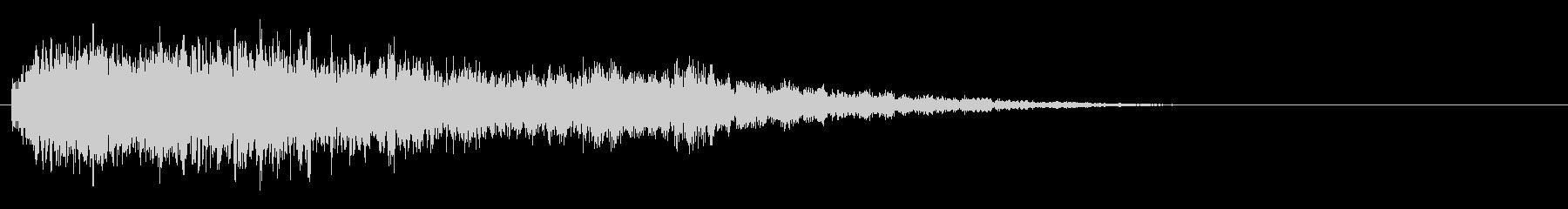 サスペンスピアノ音_18-2の未再生の波形