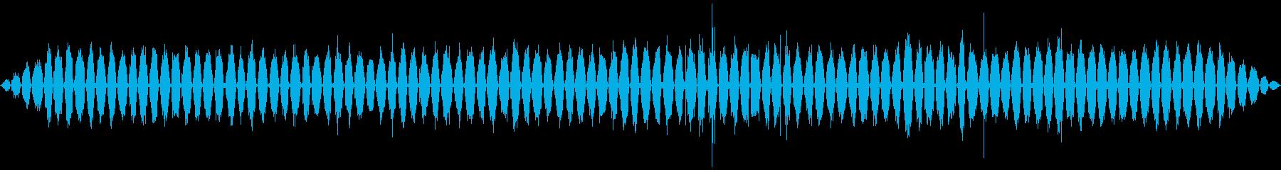 ハンド:スローラフサンディング、建...の再生済みの波形