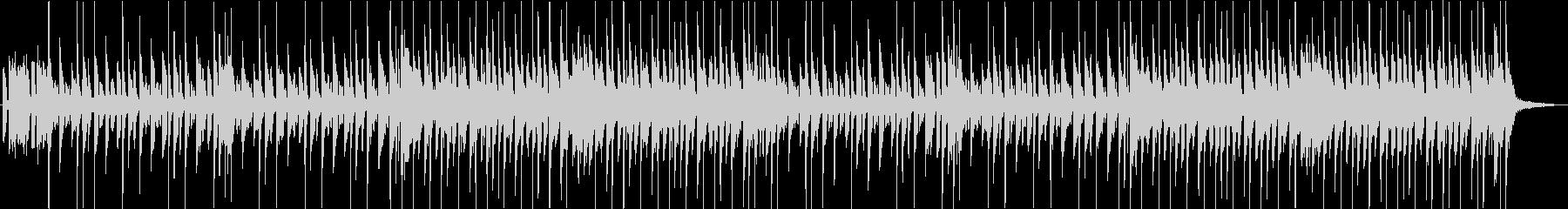 ほのぼの木琴のキッズBGMの未再生の波形