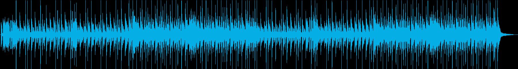 ほのぼの木琴のキッズBGMの再生済みの波形