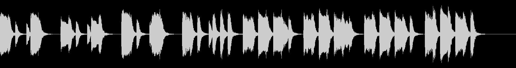 知育・料理・パズル・日常ピアノ17Aの未再生の波形