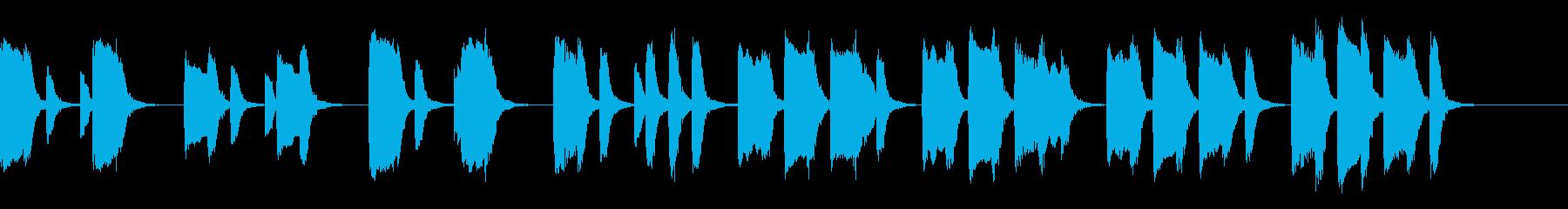 知育・料理・パズル・日常ピアノ17Aの再生済みの波形