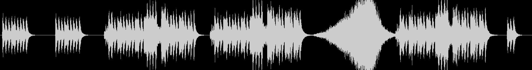 ブラックコメディ感のあるオーケストラの未再生の波形
