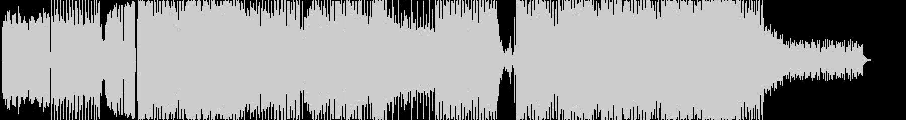 篠笛主体のEDM風+和インストの未再生の波形