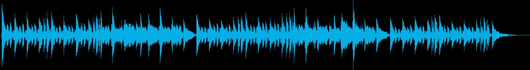 JAZZYなコードワークのアコギ独奏の再生済みの波形