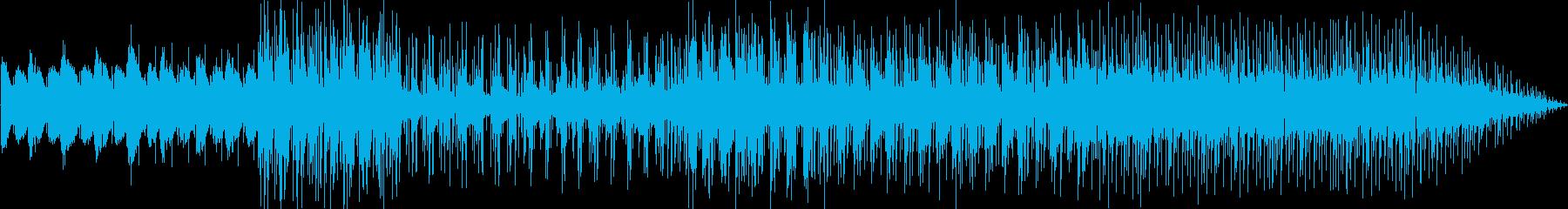 ゆっくりとしたグルーヴィーなラテン...の再生済みの波形