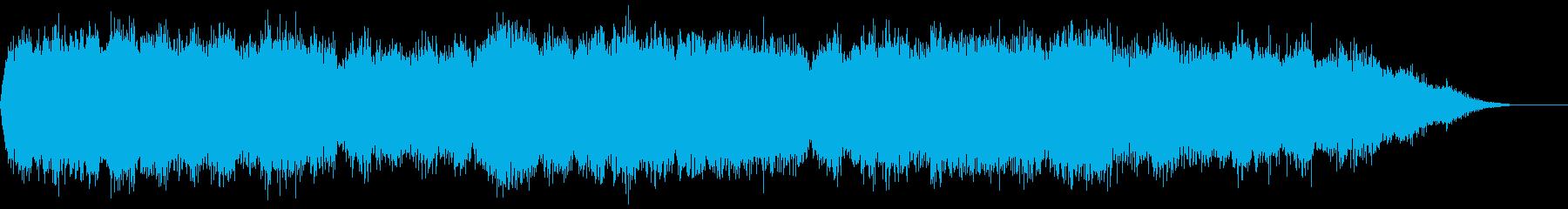 背景音 ホラー 14の再生済みの波形