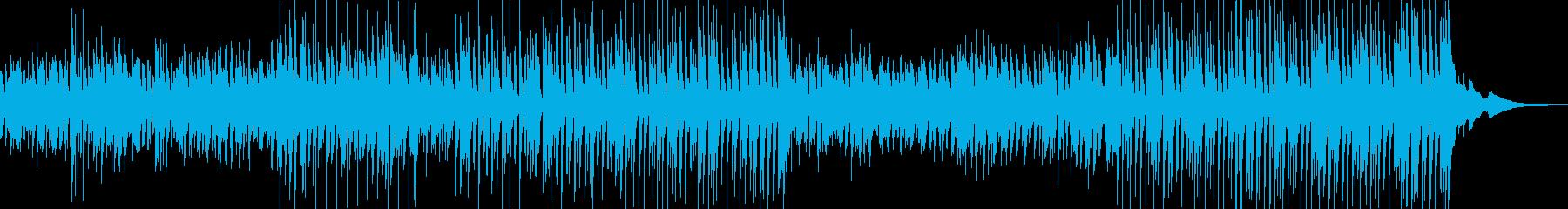 子供でかわいい曲の再生済みの波形