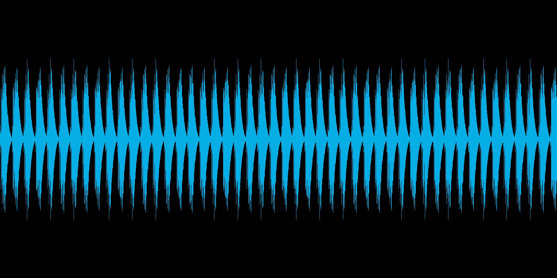 ゲージ・スコアカウント音(ピピピピピ)の再生済みの波形