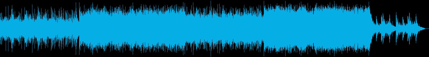 ダークファンタジー、ゴシックなハロウィンの再生済みの波形