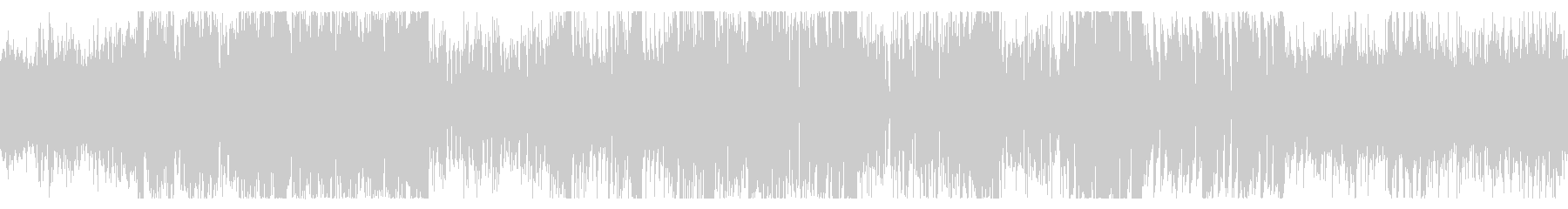 サイバーパンクな屋内にて ループBGMの未再生の波形