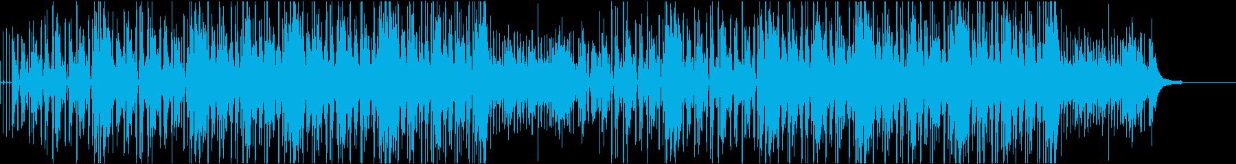 推理、調査、潜入等 サスペンス系BGMの再生済みの波形