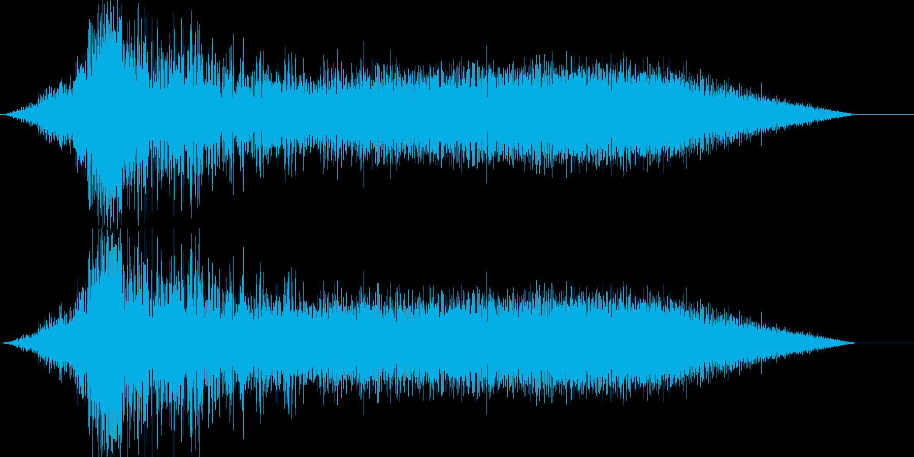 シュイーンの再生済みの波形