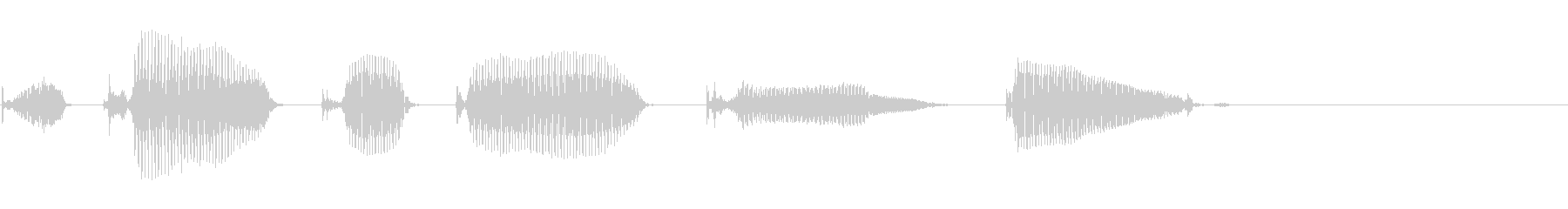Easy to use!'s unreproduced waveform