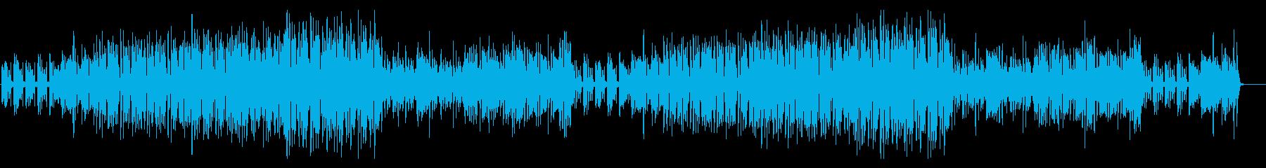 南国のフルーツのような元気で明るい曲の再生済みの波形