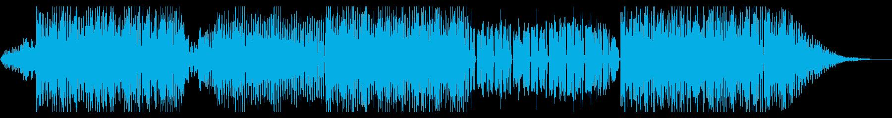音楽ゲーム風ポップでアップテンポな曲ですの再生済みの波形